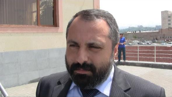 Artsakh's presidential spokesman David Babayan