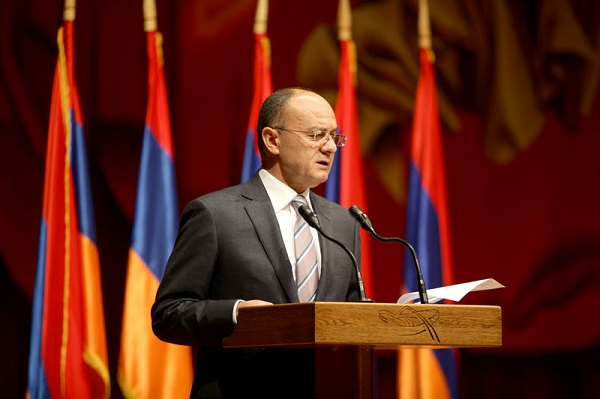 Armenia's Defense Minister Seyran Ohanian