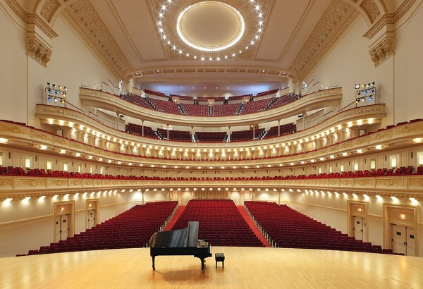 A view of Carnegie Hall