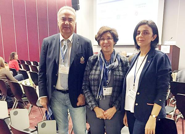 From left: Dr. Frieda Jordan, Dr. Sevak Avagyan, and Armine Hyusyan. (Photo: ABMDR)
