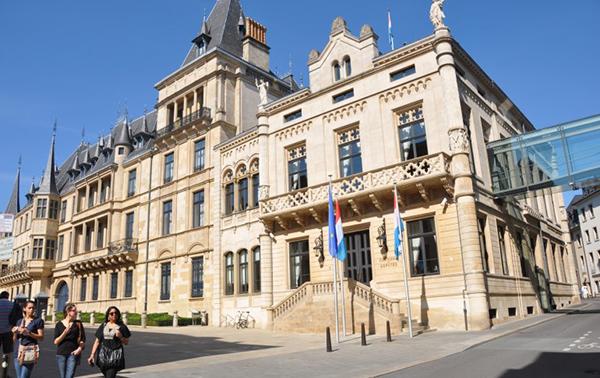 Luxembourg's parliament building, the Hôtel de la Chambre