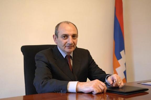 Nagorno-Karabakh President Bako Sahakyan (Source: Armenpress)