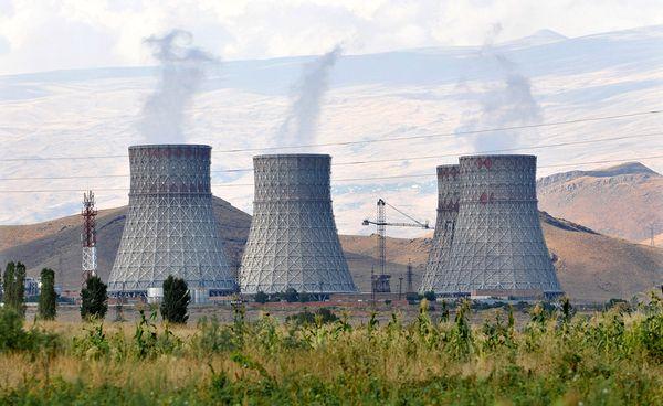 The Metsamor nuclear power plant in Armenia