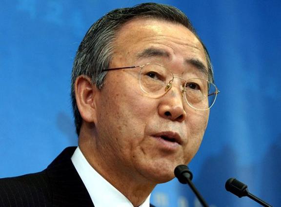 UN Secretary-General Ban Ki-Moon (Source: Public Radio of Armenia)