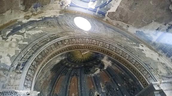 The interior of Surp Toros Church (Photo: Aris Nalci)