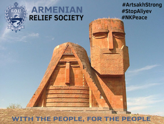 """ARS """"Support For Artsakh"""" Campaign Click image to donate"""