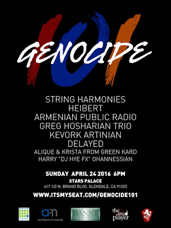 Genocide 101 Poster - GEN 20160313