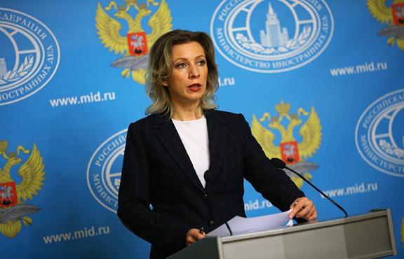 Russian Foreign Ministry's Spokesperson, Maria Zakharova