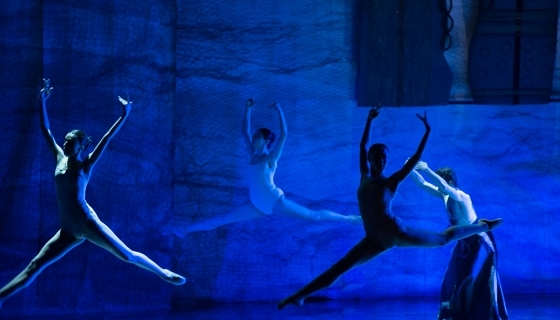 Ballet 2021 Foundation dancers performing at the opening of the inaugural Aurora Prize Ceremony (Photo: Aurora Prize)