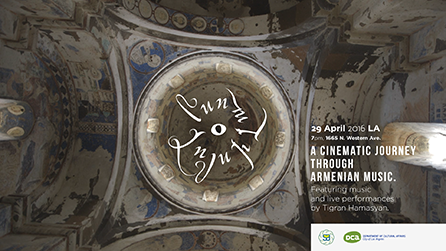 LA Department of Cultural Affairs & Sosé & Allen's Legacy Foundation will host the American premiere of the Luys I Luso Installation in Little Armenia, Hollywood
