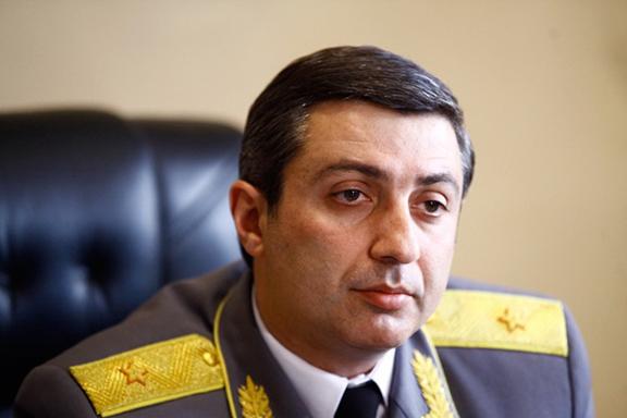 Armenia's Chief Judicial Enforcer Mihran Poghosyan