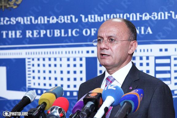 Armenian Defense Minister Seyran Ohanian
