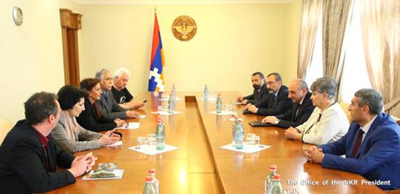 German lawmakers visit Stepanakert on May 18