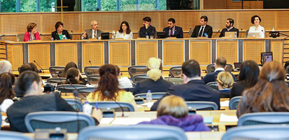 """A coalition of Jewish, Armenian, Roma and Assyrian organizations launched """"A Charter for a Europe of Diasporas"""" at the European Parliament."""