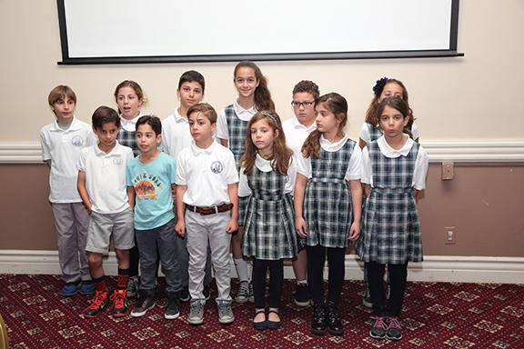 Ari Guiragos Minassian students at the event