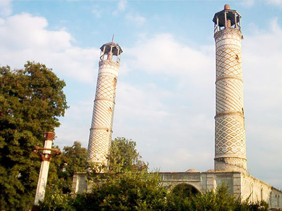 A mosque in Shushi  has been preserved by the Nagorno-Karabakh Republic Ministry of Culture