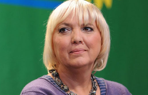 Green Party member and Vice President of the Bundestag, Claudia Roth