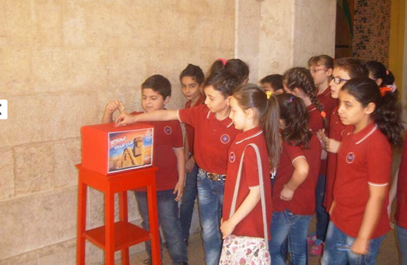 Children from Aleppo donate their savings to Artsakh