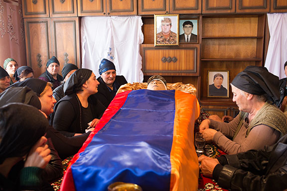 The beheaded soldier in Nagorno-Karabakh