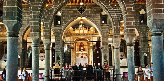 Surp Giragos Armenian Church in Diyarbakir