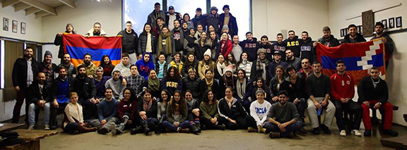 All-ASA's annual retreat with over 100 students participating.