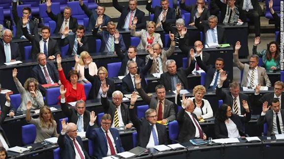 German Parliament, Bundestag