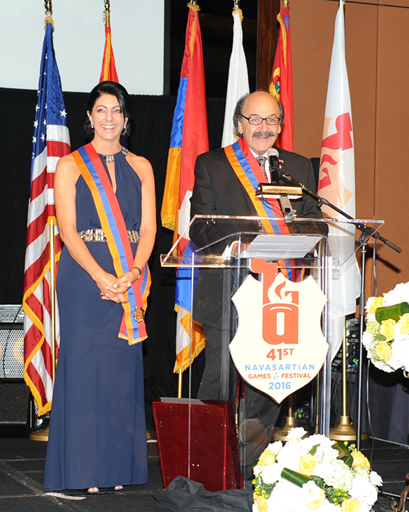 Khatcho and Araxie Achadjian