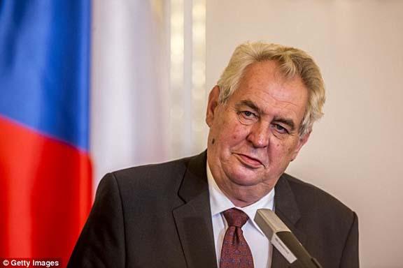 Czech Republic President, Milos Zeman