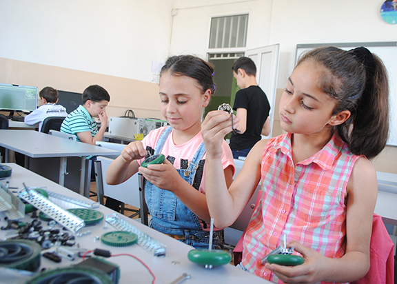 ONEArmenia's goal of $57,882 will allow to build engineering labs in 5 public schools in Armenian towns and villages, reaching a total of 1,841 students per year.