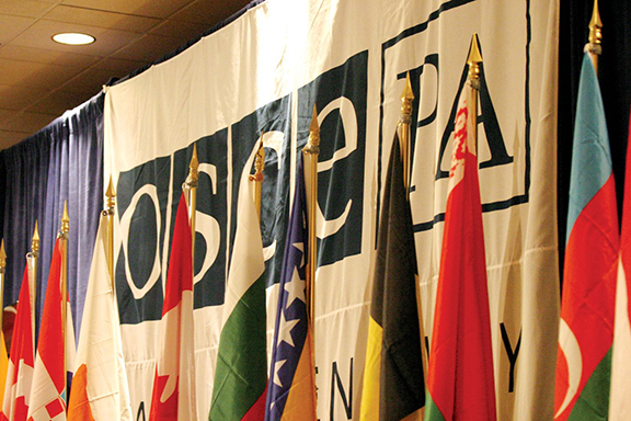 OSCE Parliamentary Assembly rapporteur, Margareta Cederfelt, drafts resolution calling for confidence building-measures in Karabakh conflict zone. (Source: ArmRadio)