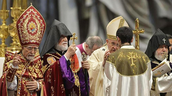 Cardinal Sandri said that Pope's visit to Armenia is a gesture of affection and gratitude. (Source: ArmRadio)