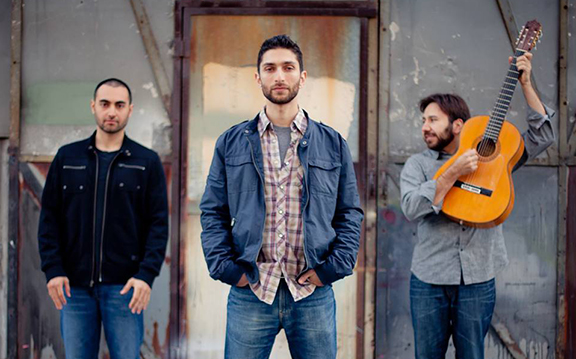 Los Angeles based Armenian folk band, Armenian Public Radio (Source: Armenian Public Radio Facebook)