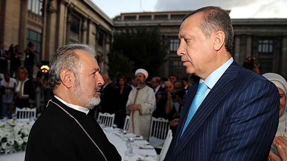 Atesyan and Erdogan (Photo: aljazeera.com.tr)