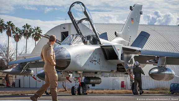Turkey is blocking the plans of a senior German defense official to visit Incirlik air base in July, and appears to be over the Armenian Genocide row from Bundestag. (Photo: Reuters/Bundeswehr/F.Bärwald)