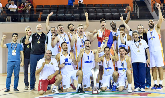 Armenia wins FIBA European Championship for Small Countries. (Photo: FIBA)