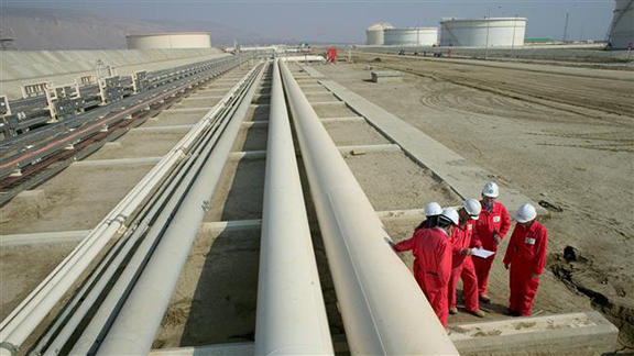 Iran's oil minister has announced an agreement between Iran and Armenia that Iranian gas will be transferred to Georgia through Armenia.(Source: ArmRadio)