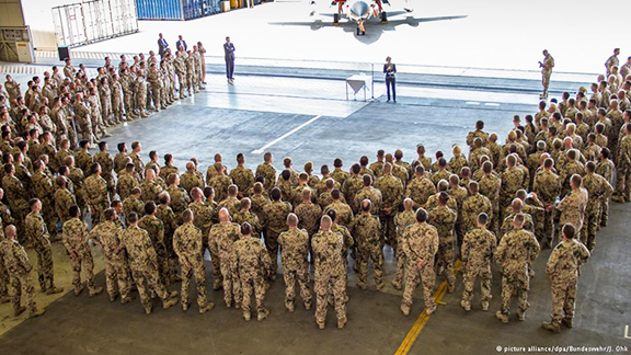Germany has said it will recall troops from its Incirlik airbase in Turkey if Ankara continues to block German MPs visiting the camp. (Photo: Picture Alliance/dpa/Bundeswehr/J.Ohk)