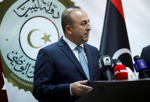 Turkish Foreign Minister Mevlut Cavusoglu (Photo: Reuters/Ismail Zitouny)
