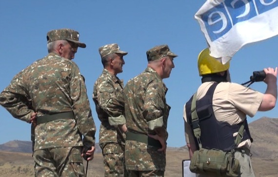 Azerbaijan did not lead the OSCE mission to its front lines