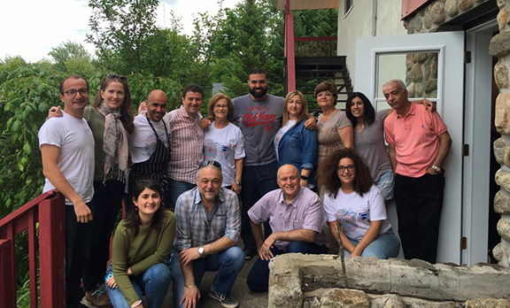 Participants and organizers before saying goodbye (Photo: Helena Bardakjian)