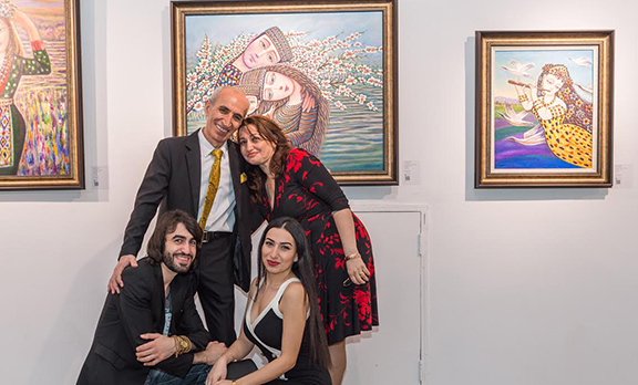"""Sevada Grigoryan's art exhibition titled 'To the Light"""" has opened to the public in Nanjing, China."""