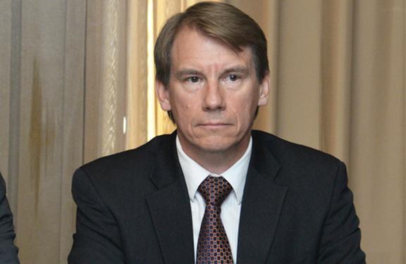 Head of NATO office in the South Caucasus, William Lahue (Photo: PanArmenian)
