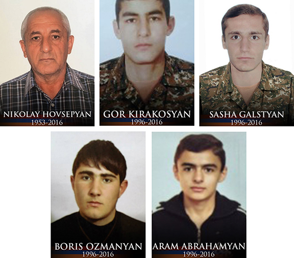 """Families of five more fallen soldiers received assistance through the """"With Our Soldiers"""" Campaigm"""