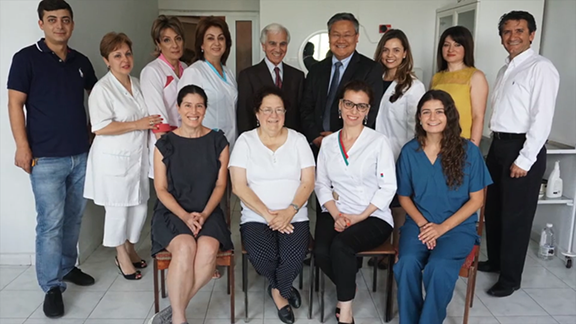 Armenian Eye Care Project on a medical mission in Armenia, 2016.