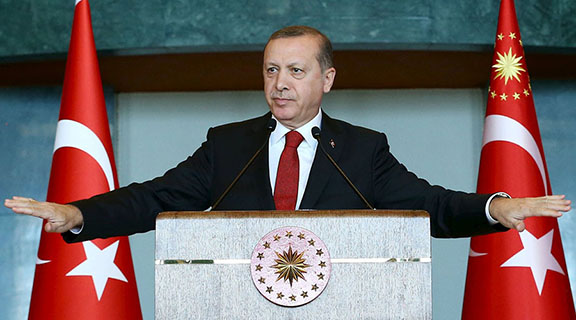 Turkey issued arrest warrants for 84 academics nationwide as a part of vast crackdown on alleged coup plotters who tried to oust President Recep Tayyip Erdoğan from power on the night of July 15. (Photo: Kayhan Ozer/Presidential Palace Press Office/Reuters)
