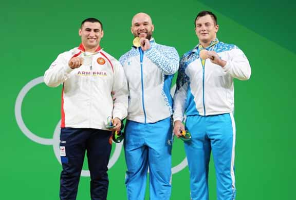 Simon Martirosyan after his silver medal win