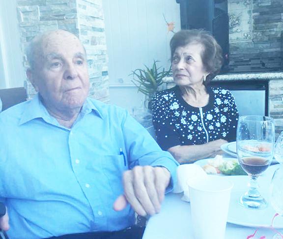 Mr. and Mrs. Hacob and Mina Shirvanian