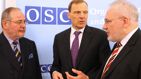 The OSCE Minsk Group co-chairmen
