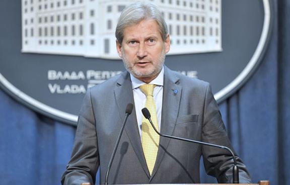 Johannes Hahn, the EU commissioner for European neighborhood policy