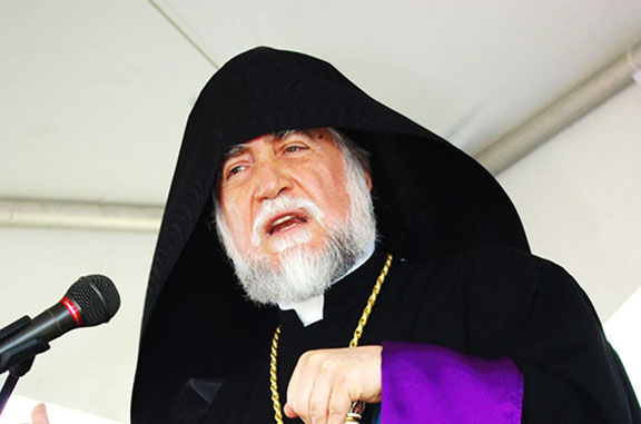 His Holiness Aram I, Catholicos of the Great House of Cilicia